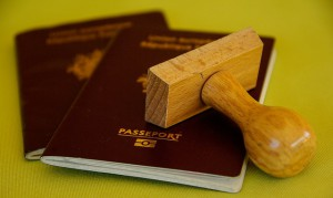Be sure you have your passports organised