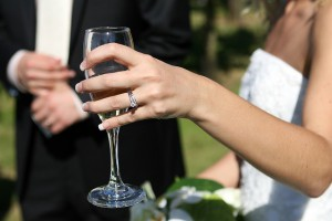 Is your engagement ring insured when you leave the house?